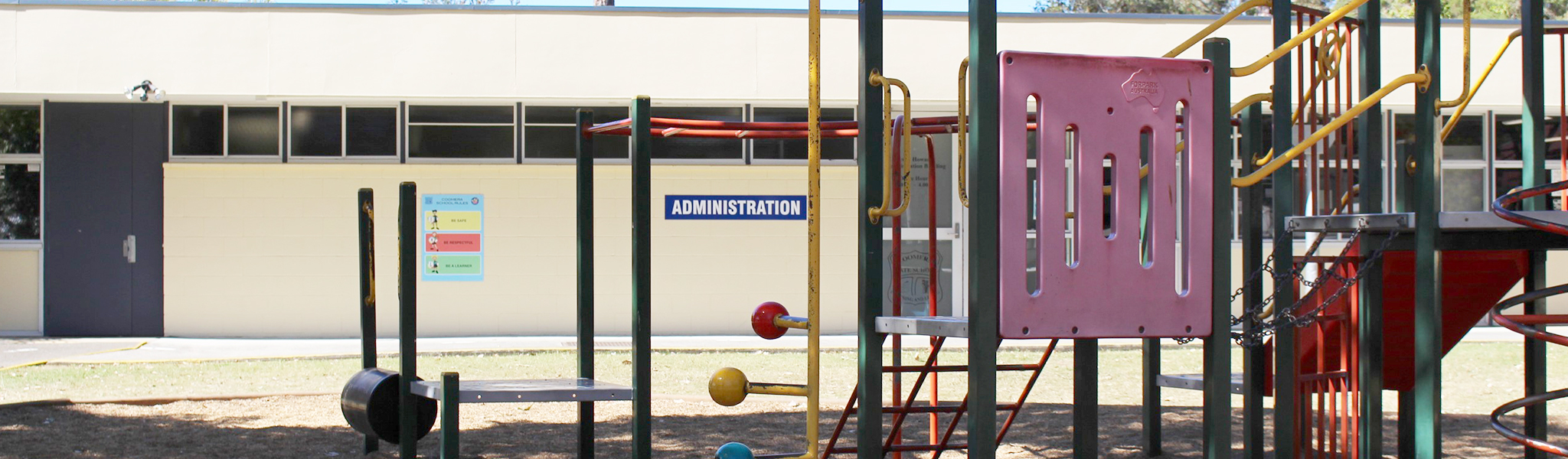 Playground and Admin building